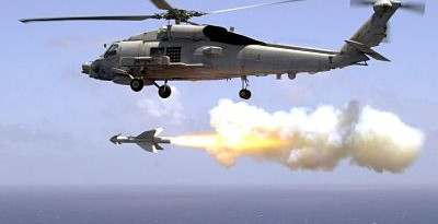 Helicopter Missiles Fired